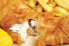 Heston Blumenthal's fish and chips recipe with beer and vodka, for you to emulate at home