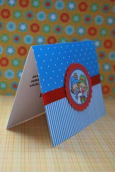 Convite Patati Patata Circus Party, Ideas Para, Envelope, Birthdays, Birthday Parties, Scrapbook, Invitations, Cards, Gifts