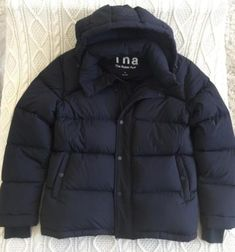 TNA-Womens-Black-THE-SUPER-PUFFER-Goose-Down-Jacket-Coat-Outerwear-NEW-250