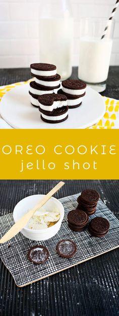 Double-stuffed oreo jello shots!!!