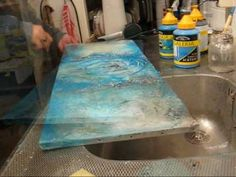 I love watching artists work. Carla van den Berg, how-to 7 -mixed media technique (might want to mute) Gesso Art, Encaustic Art, Mixed Media Tutorials, Art Tutorials, Mixed Media Painting, Mixed Media Canvas, Painting Lessons, Art Lessons, Art Abstrait