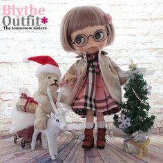 ◆Blythe Outfit◆本年最終ブライスXmasデートコーデ9点set NO74 - ヤフオク!