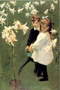 little augury: ...lily, lily,