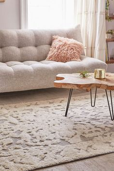 Kithira Tufted Wool Rug - Urban Outfitters