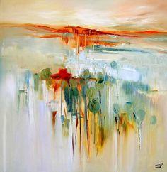 Sara Paxton Artworks-Reflections-87x87cm