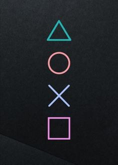 playstation buttons Displate Poster For the player - Xbox, Playstation Logo, 1440x2560 Wallpaper, Game Wallpaper Iphone, Album Design, Video Game Art, Video Games, Video Game Symbols, Video Game Posters