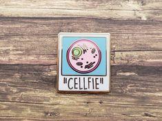 """Cellfie"" Hard Enamel Pin"
