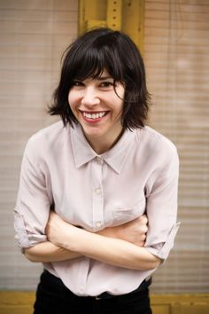 Carrie Brownstein hair.  (Carrie Brownstein, from IFC's Portlandia and the band Wild Flag, chats with music editor in the June/July issue of FOAM)