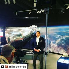 #Repost @mike_colombo  Promo shoot today at the @stlsciencecenter for a special interview scheduled next week on @kplr11 News at 4. More info to come...