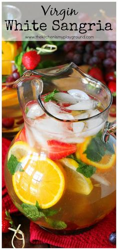 Virgin White Sangria
