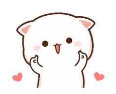 Cute Cartoon Images, Cute Love Cartoons, Cute Cartoon Wallpapers, Cute Images, Cute Love Pictures, Cute Love Gif, Cute Love Memes, Cute Anime Cat, Cute Cat Gif