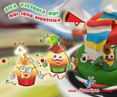 Imagen alusiva a la victoria de México contra Camerún.