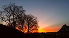 Was für ein #Sonnenuntergang # #Iserlohn #Sauerland