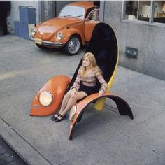 Beetle seat - recycle that old car