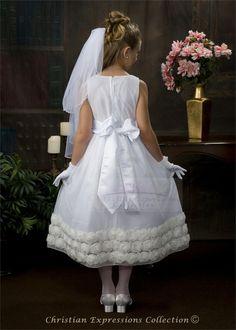 First Communion Dresses-LI-BL211