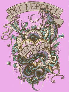 <3 <3 Def Leppard ~ Love Bites by Derrick Castle <3 <3