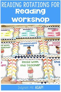 Reading Rotations Bulletin Board Display for Reading Workshop