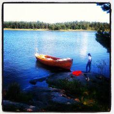 The big lake Vänern, West Sweden