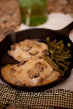 Smothered Pork Chops, THM-S