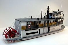 paddle wheel river boat ship models - Google Search