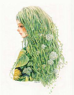 Tree hair by nhienan