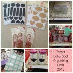 Who doesn't love a good deal on organizing products? And who doesn't love a trip to Target? Let's combine the two and hit the Target Dollar Spot for some neat, multi-use organizing tools.