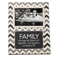 Family We May not Have it Altogether Photo Frame
