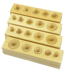 Discount Mini Knobbed Cylinders