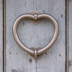 Heart Door Knocker from jim-lawrence.co.uk #valentine