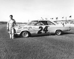 Sam McQuagg drove for Betty Lilly in 1965 finishing 8th in the Daytona 500...