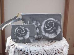 Shabby Chic Smart phone Case Gadget Pouch by Antiquebasketlady, $25.50 #Shabby #Shabbychic #cottagerose
