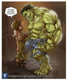 . Marvel 3, Marvel Universe, Marvel Comics, Bruce Banner Hulk, Mundo Comic, Nerd Geek, Comedians, Funny Memes, Cartoon