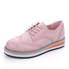 Barato Hee grand brogue sapatos de cores mulher doces plataforma oxfords estilo britânico creepers cut outs das mulheres planas casuais mulheres sapatos xwd4233, Compro Qualidade Apartamentos das mulheres diretamente de fornecedores da China: DESCONTOEUA $29.66ordens (35)DESCONTOEUA $29.66ordens (35)DESCONTOEUA $28.66ordens (35)DESCONTOEUA $54.00ordens (35)DESC
