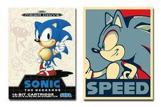 É hoje!... Poster do Sonic