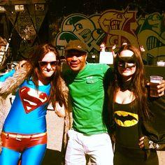My friends Manshur 'Surie' Stemmet is safe with Superheroes @grietfest 2014 #SwitchOnTheNight