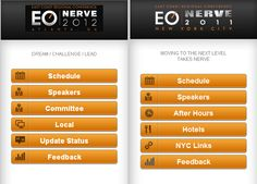#SynapseIndia had developed mobile Event site for EO Nerve - 2012. EO Nerve is the annual conference of Entrepreneur Organization which includes members from across the world.