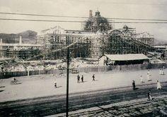 Keijo(京城, Seoul) Central Train Station under construction circa 1924 Old Pictures, Pretty Pictures, Old Photos, Vintage Photos, Seoul, Meiji Restoration, Korean Photo, Korean Wave, Korean Traditional