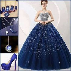 Under the stars Ball Gown Dresses, Prom Dresses, Formal Dresses, Wedding Dresses, Chic Dress, Flare Dress, Ballroom Gowns, Diamond Dress, Fantasy Gowns