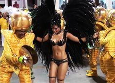 Brazil Carnival 2014 at Sambadrome in Rio de Janeiro