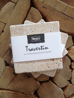 Travertin-Stein