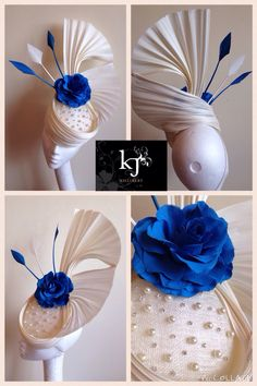 Custom Jinsin headpiece #jinsin #hat #kjmillinery #hat