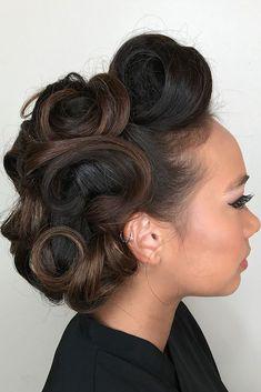 Utterly Gorgeous Vintage Wedding Hairstyles ❤ See more: http://www.weddingforward.com/vintage-wedding-hairstyles/ #weddingforward #bride #bridal #wedding