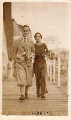 Vintage 1930s Photo Card - Margate, England
