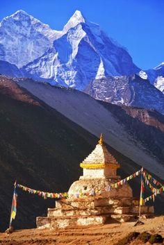 Mount Kantega, Himalaya, Nepal.