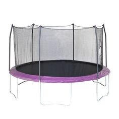 Skywalker Trampolines 15 ft Round Trampoline With Enclosure Purple - Outdoor Games And Toys, Trampolines at Academy Sports