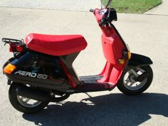 1985 Honda Aero 50cc. I rode one of these when I was 16 years old. Great on gas and fun to ride.