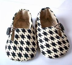houndstooth boy loafers
