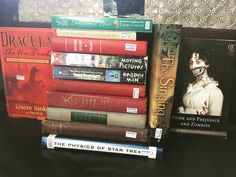 Tagged for #latestbookhaul by the twins in fabulosity @beckywrightauthor and @juliablakeauthor .  I bought so many books on my holiday! SQUEEEEEEEE!  Also knocking a few other tags off my list here... . #houseonthecover from @theconstantvoice and @juliablakeauthor - it's really hard to see but there is a castle on the Dracula book.  Guys almost every one of the books I've seen with this tag has castles.  I love it!  Castles for everyone! . #grislyread from @juliablakeauthor - Pride and…