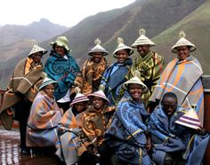 The Basotho people also known as Sotho, are Bantu people of the Kingdom of Lesotho (lusō'tō), an enclave within the Republic of South Africa. African Beauty, African Art, African Fashion, African History, African Style, We Are The World, People Around The World, African Textiles, Out Of Africa