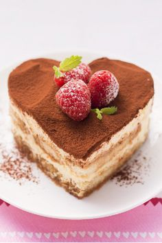 Tiramisu Hearts – The way we see it, anyone who treats us to tiramisu is a sweetheart. Particularly when a heart-shape cookie cutter is used to make the presentation of this creamy dessert recipe extra-special!